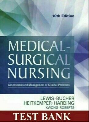 (TEST BANK) Medical Surgical Nursing 10th Edition by Lewis  **FAST DELIVERY**
