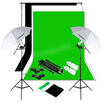 1250W Studio Photography Soft Box Continuous Lighting Softbox Light Stand Kit
