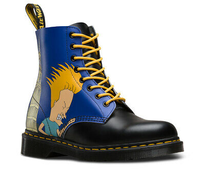 e687ed03a9 Dr. Martens New US 12 Beavis And Butthead London Boots Butt Head Pascal