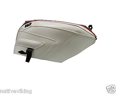 Bagster TANK COVER Ducati 1098 2007-2013 TANK PROTECTOR in STOCK white red 1544E