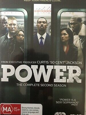POWER - Season 2 3 x DVD Set AS NEW! Complete Second Series Two