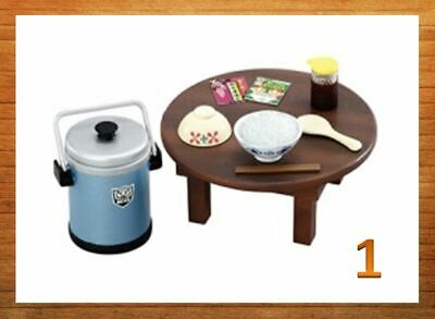NEW  Re-ment Miniature Nostalgic Japanese Life rement 650YENfurniture No.01