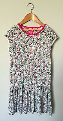 Girls JOULES Floral Print Cotton Summer Dress 9-10 Years VGC!