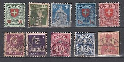 lot timbres Suisse Helvetia