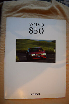 Volvo 850 Brochure 43 pages