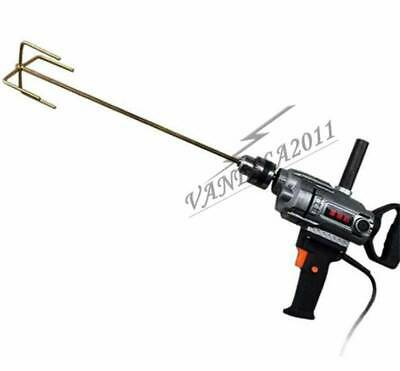 1PC New Hand Held Electric Cement Mixer Type with drills