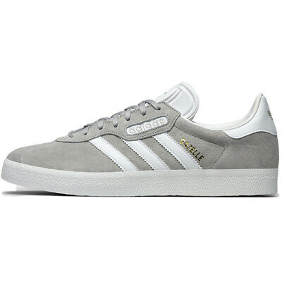 Adidas Originals Gazelle Super Essen Grey Pink Black Leather cq2793 bb5497 bb548