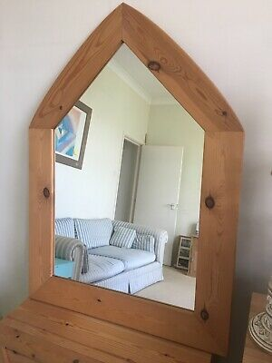 Dont Miss*! Amazing Antique Wooden Mirror Gr8 Condition!!