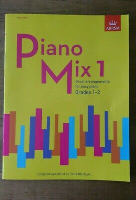 Piano Mix 1: Great arrangements for easy piano ABRSM. Very Good Condition.