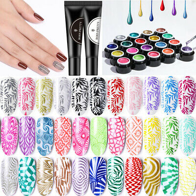 BORN PRETTY Vernis à Ongles Semi-permanent Stamping UV Gel Nail Polish Manucure