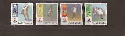 Saint Lucia 2008 Olympic Games Mnh Set Of Stamps