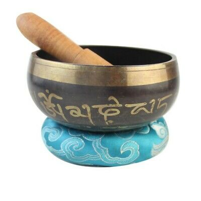 Tibetan Chakra Healing Singing Bowl Set of Hand Hammered Himalayan Meditation