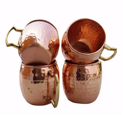 No Lining 100/% Pure Hammered Copper Melange Antique Finish 20 Oz Copper Barrel Mug for Moscow Mules Includes Free Recipe Card 712166789643 Heavy Gauge
