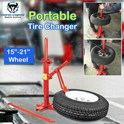 """Portable Tire Changer Bead Breaker 15""""-21"""" Car Motorcycle Tyre Changing Tool"""
