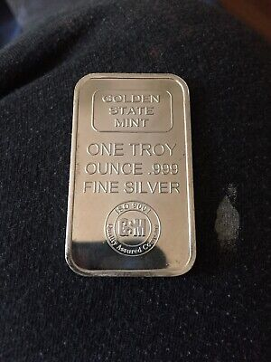 Golden State Mint One Troy Ounce .999 Fine Silver-Toned