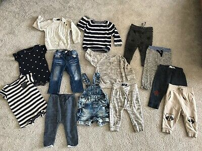 Boys NEXT clothes 9-12 Months Rompers Joggers Tracksuit Summer Holiday BUNDLE