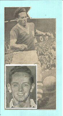 Football Autograph Gordon Astall Birmingham FC Signed Picture Collage F885