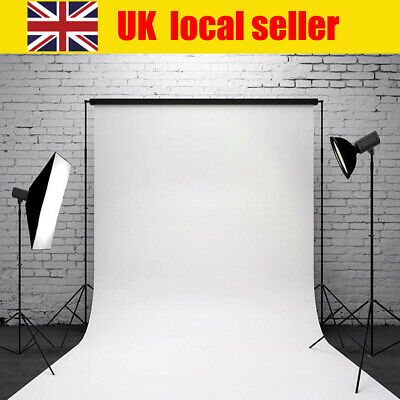 Professional Pure White Backdrop Vinyl Photography Background Screen Studio Prop