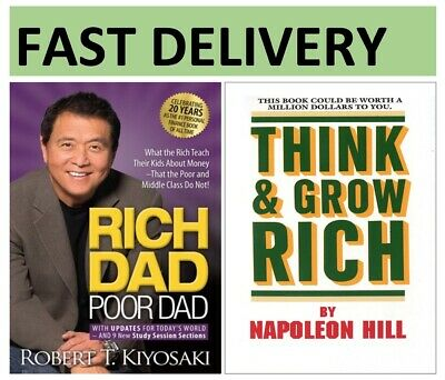 'Rich Dad Poor Dad' and 'Think & Grow Rich' (PDF, EPUB)