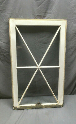 Antique 6 Lite Star Window Sash Shabby Vintage Chic 33X20 118-19L