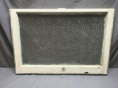 Antique Florentine Privacy Glass Window Sash Shabby Vintage Chic 32X22 120-19L