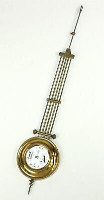 "R/A REGULATOR CLOCK PENDULUM 16-1/16"" - 9.7 oz. - ANTIQUE - SP614"