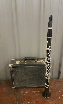 Bundy Resonite Selmer Clarinet with Case - Number 1232510