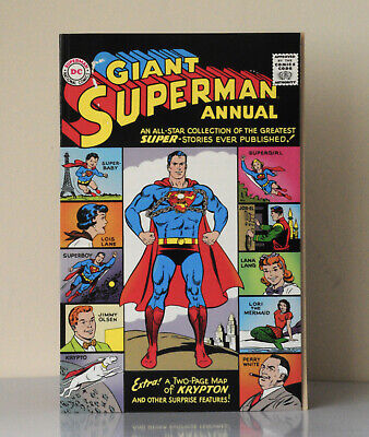 Giant Superman Annual #1 Dc Comics 1st Silver Age 1960 supergirl giant size rare