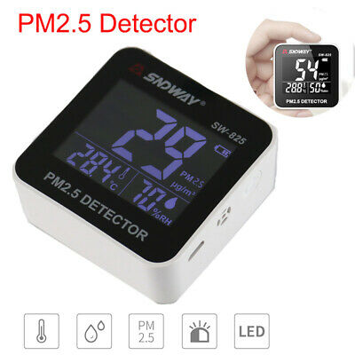 SNDWAY Electrical LCD PM2.5 Detector Gas Detector Air Quality Gas Analyzer Meter