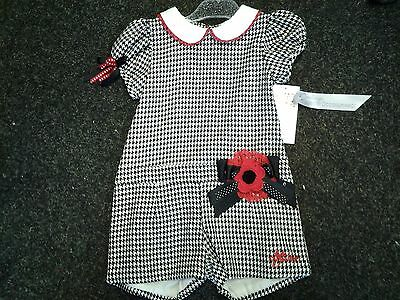 Sale New Little Darlings All-In-One Playsuit Sizes    4 Yrs  5Yrs  6 Yrs