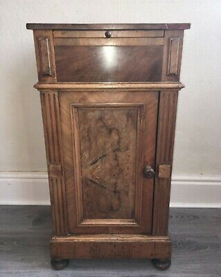 Antique Walnut Pot Cupboard - Late 19th/early 20th Century