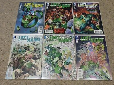 Green Lantern: Lost Army #1-6 | Complete DC Comic Series (2015)
