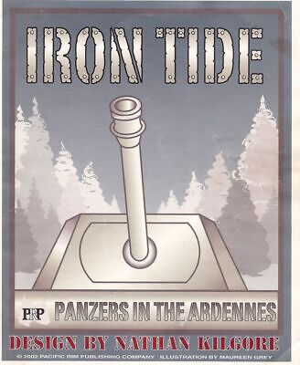 wargame - IRON TIDE: Panzers in the Ardennes by Pacific Rim no GMT AH MMP SPI
