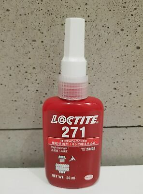 LOCTITE 271 Mil Spec Low Viscosity High Strength, Red Threadlocker 50ml