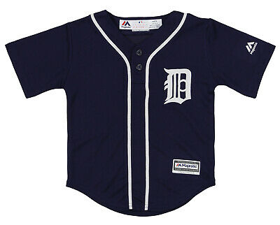 Majestic MLB Infant / Toddlers Detroit Tigers Cool Base Henley Tee