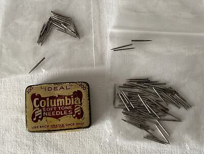 Part Used Tin IDEA COLUMBIA SOFT TONE Gramophone Needles +Loose Different Others