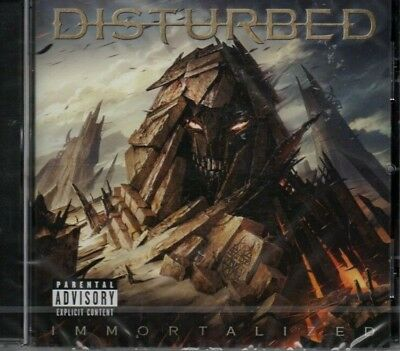 Disturbed - Immortalized          *new & Sealed Cd Album*  Inc. Sound Of Silence
