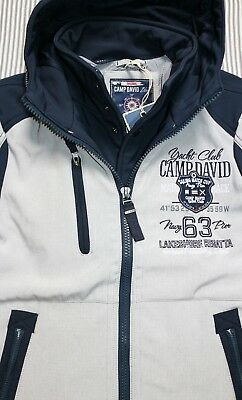 Jacke 2 Herren Kombi in ML 1 CAMP David 239€ NEU 4Rq53jALc