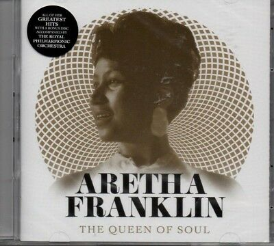 Aretha Franklin - The Queen Of Soul     *New 2018 Cd Album*