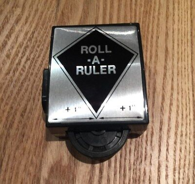 Vintage Roll-A-Ruler Measuring Tool