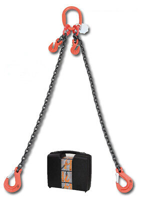 Beta 080970002 Chain Sling 2 Legs And Grab Hook In Plastic Case 6mm 2 Mt