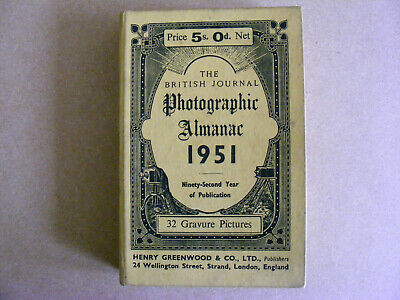 The British Photographic Almanac 1951. Henry Greenwood & Co. Ltd.