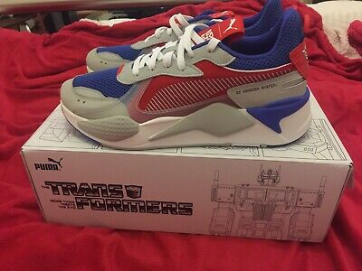 31223653bbd0 PUMA RS-X X Transformers Optimus Prime (Red) - Size 9.5 UK   10 US ...