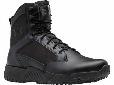 Under Armour Stellar Tactical Side-Zip Boots 1303129 / Black 001 - 8 Men Us
