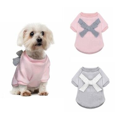 Dog Knitted Jumper Vest Winter Knitwear Chihuahua Clothes Warm Pet Puppy Sweater
