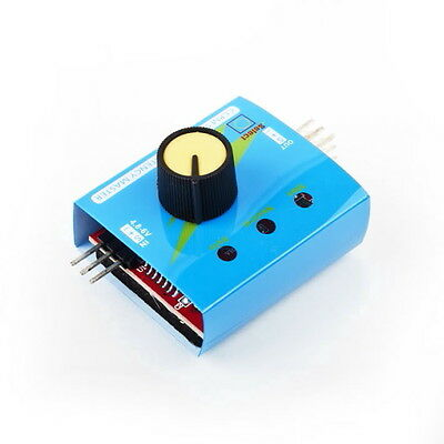 Multi Servo Tester 3CH ECS Speed Controler Power Channels CCPM Meter M&