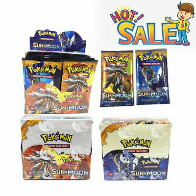 324Pcs 36Packs Pokemon Card Bulk Lot TCG Booster Box GX/EX/MEGA Rare Cool Gift !