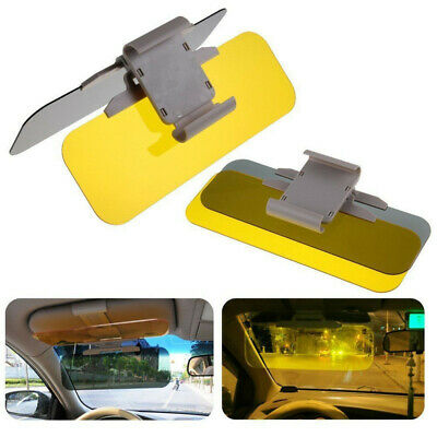 Car Anti-Glare Dazzle Goggle Mirror Day/Night Driving Sun Visors Extension well