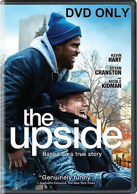The Upside DVD ONLY *** The disc has never been watched *** K Hart & B Cranston