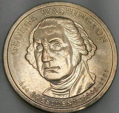 2007 D George Washington Presidential Dollar Coin